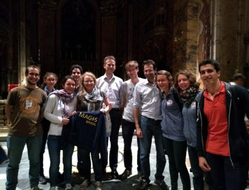 Les jeunes de la Maison Magis témoignent de leur expérience au Synode des Jeunes à Rome