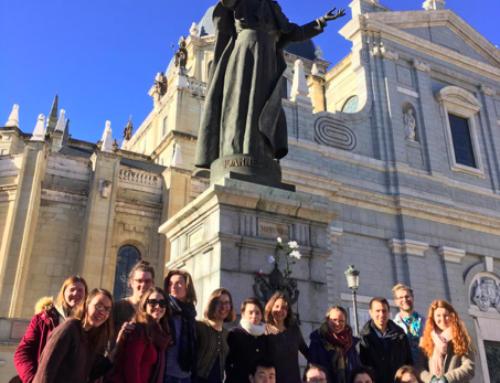 Les jeunes de Magis Paris aux rencontres Européennes de Taizé à Madrid