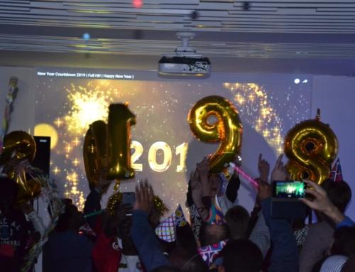 Nouvel an des jeunes de la maison Magis avec le JRS (Jesuit Refugee Service)
