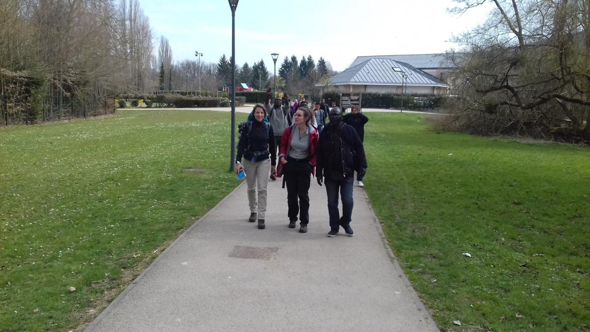 Photo randonnée avec JRS