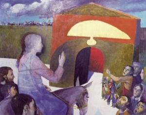 Rameaux - Entrée à Jérusalem - Arcabas