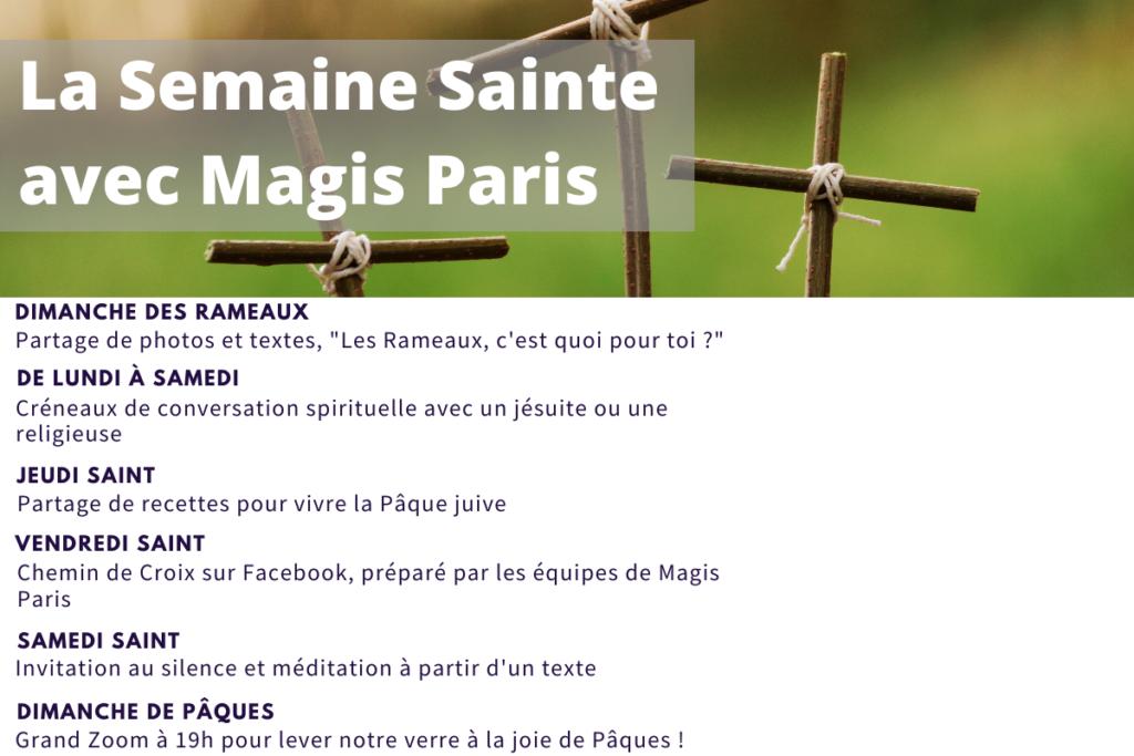 Semaine Sainte Magis Paris