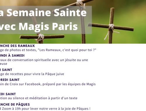 Suivez la Semaine Sainte avec Magis Paris