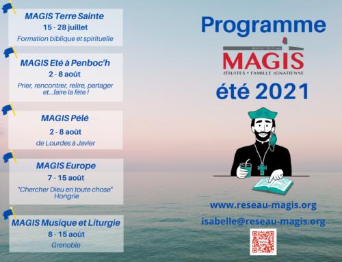 Le programme d'été du Réseau Magis est sorti !