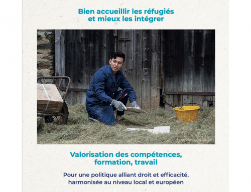 Publication d'un rapport de JRS France sur l'accueil et l'intégration des réfugiés